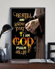 God - Be Still - Poster 16x24 Poster lifestyle-poster-2