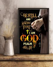 God - Be Still - Poster 16x24 Poster lifestyle-poster-3