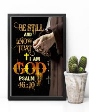 God - Be Still - Poster 16x24 Poster lifestyle-poster-8