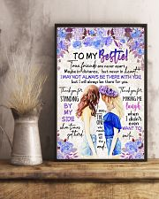 TO MY BESTIE - GIRLS - THANK YOU 16x24 Poster lifestyle-poster-3