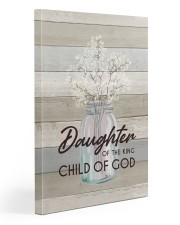 God - Daughter Of The King - Canvas 20x30 Gallery Wrapped Canvas Prints front