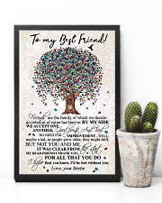 TO MY BEST FRIEND 16x24 Poster lifestyle-poster-8