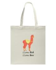 Llama Bish Llama Boss Tote Bag thumbnail
