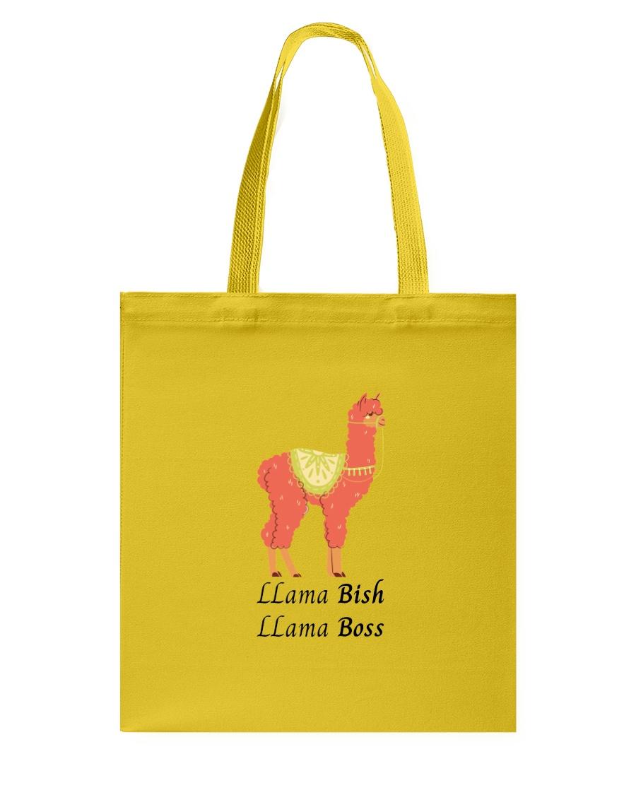 Llama Bish Llama Boss Tote Bag