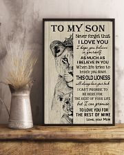 Gift for Son from Mom 16x24 Poster lifestyle-poster-3