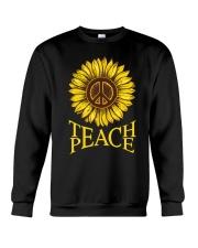 Teach Peace Crewneck Sweatshirt thumbnail