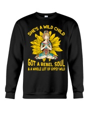 She's A Wild Child Crewneck Sweatshirt thumbnail