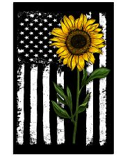 American Flag Sunflower 16x24 Poster front