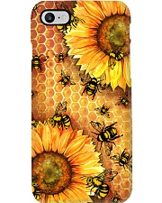 Honey Bee Sunflower Phone Case i-phone-7-case