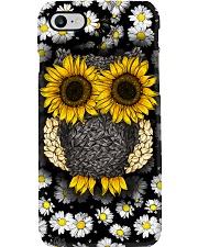 Daisy And Sunflower Owl Phone Case i-phone-8-case