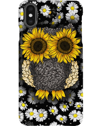 Daisy And Sunflower Owl