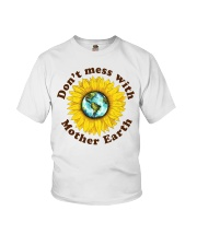 Don't Mess With Mother Earth Youth T-Shirt thumbnail