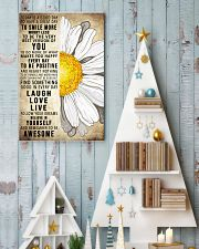 Today Is A Good Day To Have A Great Day Daisy 16x24 Poster lifestyle-holiday-poster-2