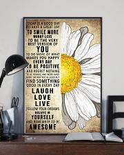 Today Is A Good Day To Have A Great Day Daisy 16x24 Poster lifestyle-poster-2