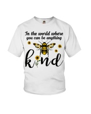 In The World Where You Can Be Anything Be Kind Youth T-Shirt thumbnail