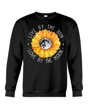 Live By The Sun Love By The Moon Crewneck Sweatshirt thumbnail