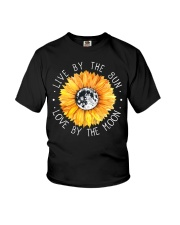 Live By The Sun Love By The Moon Youth T-Shirt thumbnail
