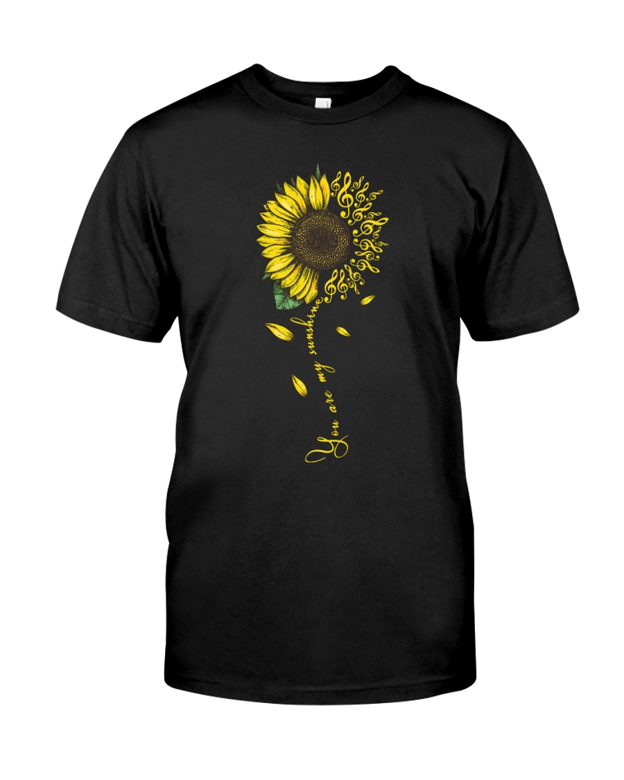 You Are My Sunshine Sunflower Sol Key Classic T-Shirt