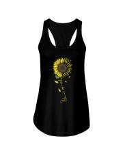 You Are My Sunshine Sunflower Sol Key Ladies Flowy Tank thumbnail