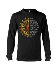 She Dances To The Songs In Her Heart Sunflower Long Sleeve Tee thumbnail