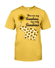 You Are My Sunshine My Only Sunshine Classic T-Shirt front