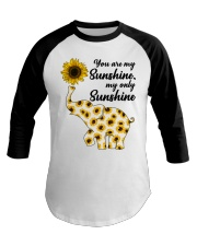 You Are My Sunshine My Only Sunshine Baseball Tee thumbnail