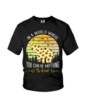 In A World Where You Can Be Anything Be Kind Youth T-Shirt thumbnail