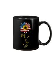 You Are My Sunshine Sunflower American Flag Mug thumbnail