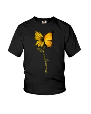 You Are My Sunshine Sunflower Butterfly Youth T-Shirt thumbnail