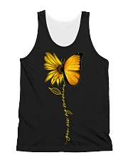 You Are My Sunshine Sunflower Butterfly All-over Unisex Tank thumbnail