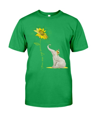 You Are My Sunshine Sunflower Elephant