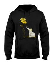 You Are My Sunshine Sunflower Elephant Hooded Sweatshirt thumbnail