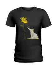 You Are My Sunshine Sunflower Elephant Ladies T-Shirt thumbnail
