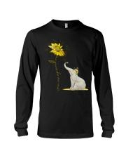 You Are My Sunshine Sunflower Elephant Long Sleeve Tee thumbnail