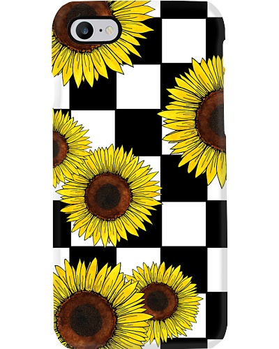 Sunflower Checked Flag Pattern