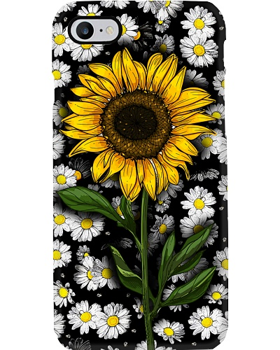 Sunflower And Daisies
