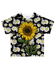 Sunflower And Daisies All-over T-Shirt thumbnail