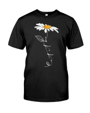 Let It Be Daisy Classic T-Shirt front