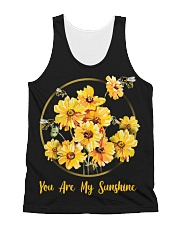 You Are My Sunshine All-over Unisex Tank thumbnail