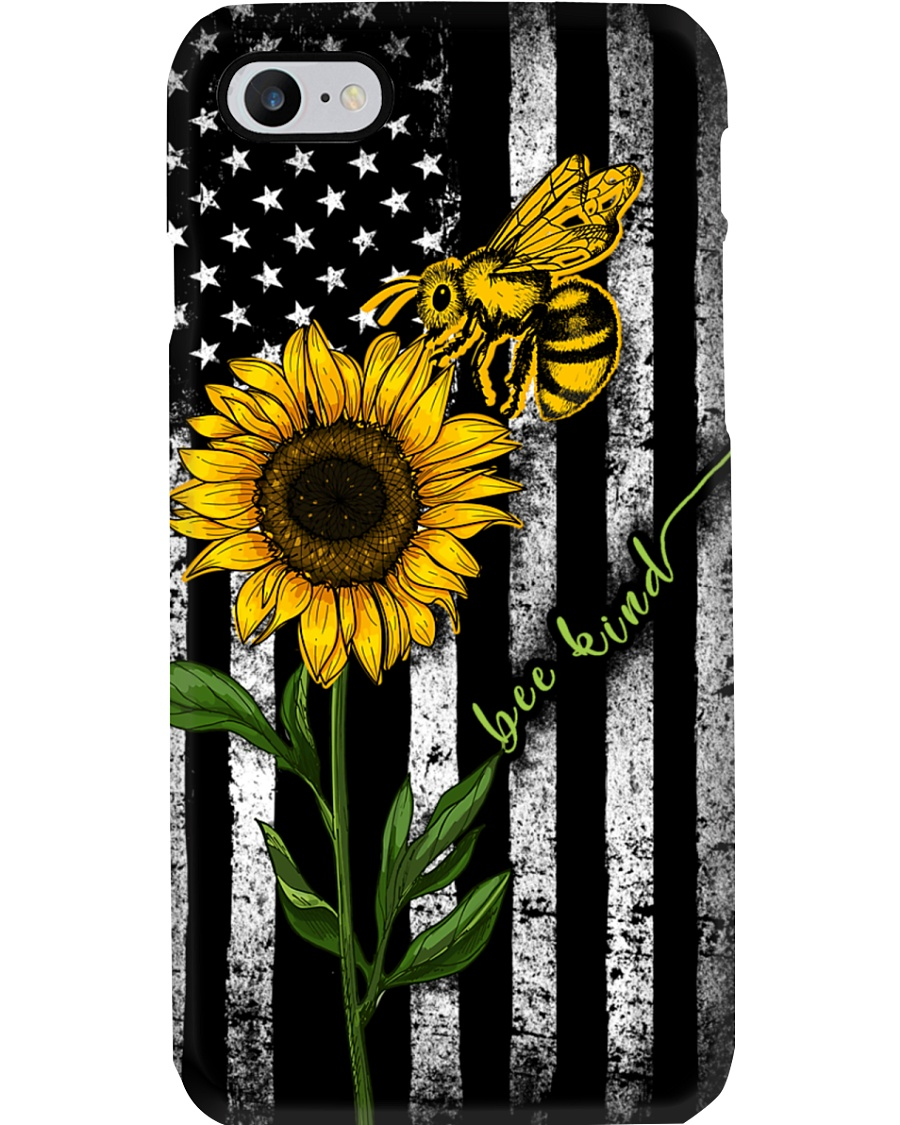 Sunflower Bee Kind Phone Case