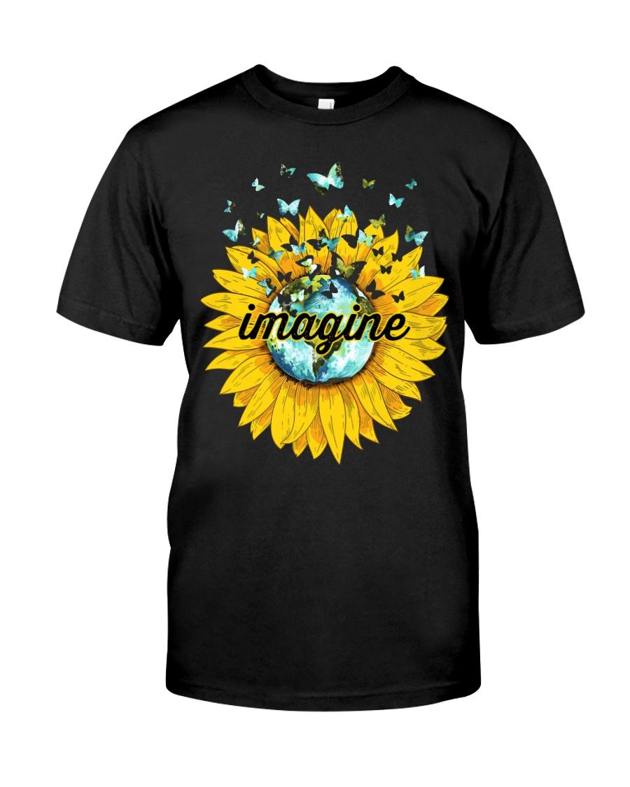 Imagine Sunflower Classic T-Shirt