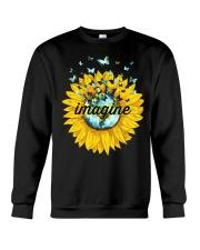 Imagine Sunflower Crewneck Sweatshirt thumbnail