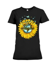 Imagine Sunflower Premium Fit Ladies Tee thumbnail