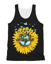 Imagine Sunflower All-over Unisex Tank thumbnail