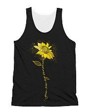 You Are My Sunshine Sunflower Dust All-over Unisex Tank thumbnail