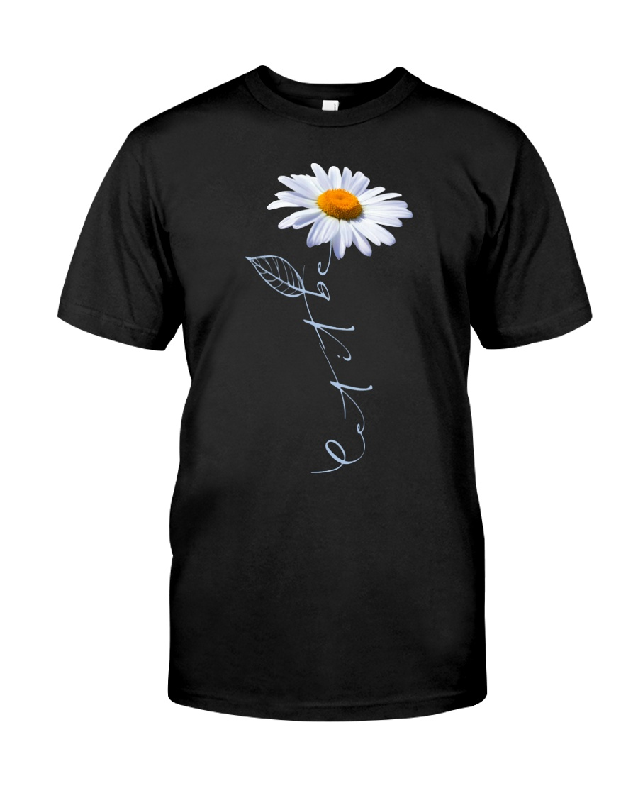 Let It Be Daisy Classic T-Shirt