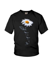 Let It Be Daisy Youth T-Shirt tile