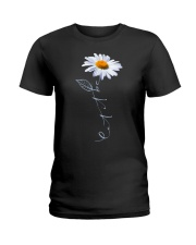 Let It Be Daisy Ladies T-Shirt thumbnail