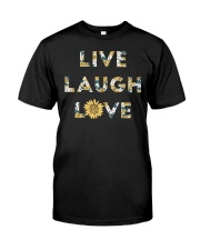Live Laugh Love Classic T-Shirt front