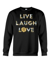 Live Laugh Love Crewneck Sweatshirt thumbnail